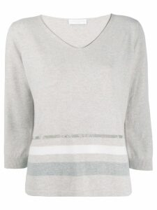 Fabiana Filippi V-neck sweater - NEUTRALS