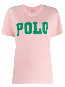 Polo Ralph Lauren logo printed T-shirt - Pink