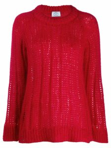 Prada ribbed knit sweater - Red