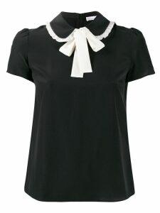 RedValentino bow tie T-shirt - Black