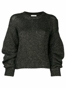 Ulla Johnson metallic knitted jumper - Black