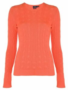 Polo Ralph Lauren fine knit sweatshirt - Orange