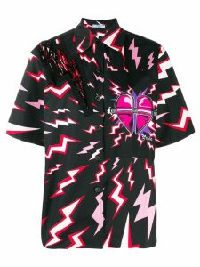 Prada lightning bolt shirt - Black