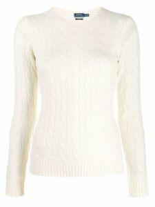 Polo Ralph Lauren fine knit sweatshirt - White