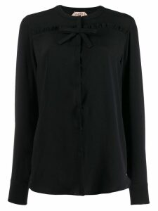 Nº21 bow detail blouse - Black