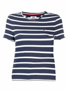 Tommy Jeans striped fitted T-shirt - Blue