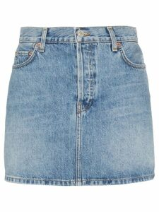 Re/Done denim mini skirt - Blue