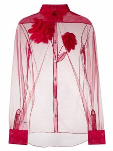 Viktor & Rolf Blooming Dhalia shirt - Red