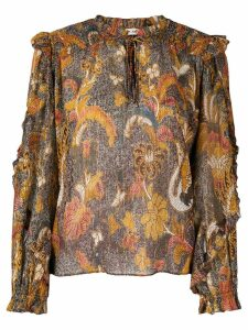 Ulla Johnson ruffle blouse - Brown