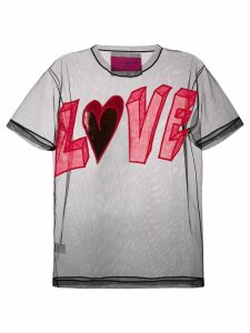 Viktor & Rolf Love T-shirt - Black