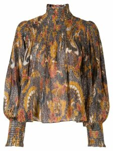 Ulla Johnson paisley blouse - Brown