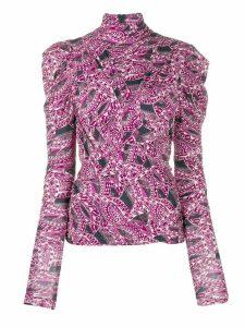 Isabel Marant Jalford blouse - PINK