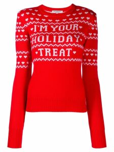 Philosophy Di Lorenzo Serafini Holiday Treat intarsia jumper - Red