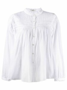 Isabel Marant Étoile pleated blouse - White