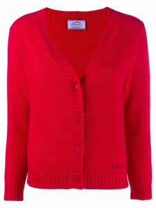 Prada fine knit cardigan - Red