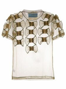 Viktor & Rolf Too Many Bows T-shirt - Green