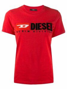 Diesel T-shirt with Diesel 90's logo - Red