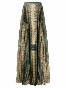 Etro floral print skirt - Green
