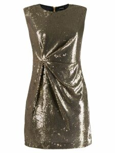 P.A.R.O.S.H. sequinned mini dress - GOLD