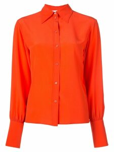 Chloé button up blouse - ORANGE