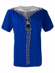 Viktor & Rolf Unzipped T-shirt - Blue