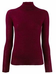 Joseph knit turtleneck top - Red