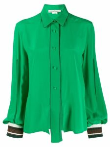 Golden Goose cut-out blouse - Green