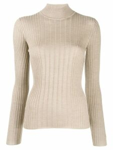 Etro ribbed jumper - NEUTRALS