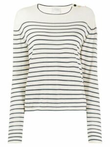 Forte Forte striped Breton jumper - NEUTRALS