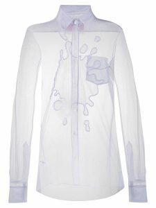 Viktor & Rolf The Splash tulle shirt - PURPLE