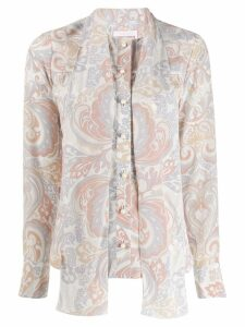 See By Chloé paisley print blouse - PINK