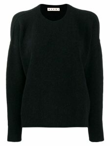 Marni round neck sweater - Black