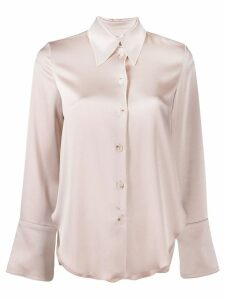 Nanushka Mandine long-sleeved shirt - Pink