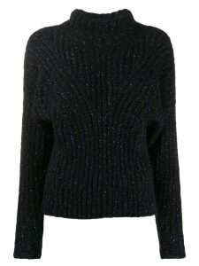 IRO high neck jumper - Black