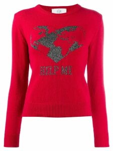 Alberta Ferretti Help Me sweater - Red