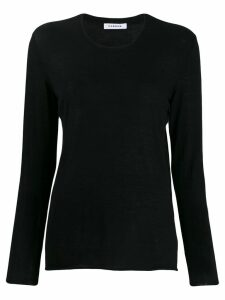 P.A.R.O.S.H. fine knit jumper - Black
