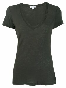 James Perse scoop neck T-shirt - Grey