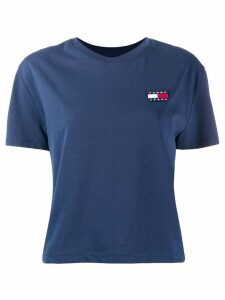 Tommy Jeans logo embroidered T-Shirt - Blue