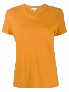James Perse round neck T-shirt - ORANGE