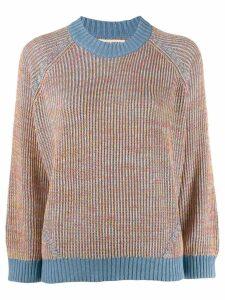 Henrik Vibskov Dusty knitted sweater - Blue