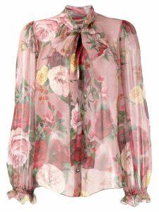 Dolce & Gabbana romantic blouse - PINK