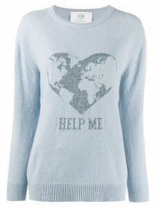Alberta Ferretti Help Me sweater - Blue