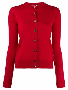 Marni round neck cardigan - Red