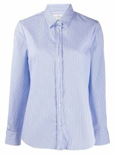 Golden Goose striped button-up shirt - Blue