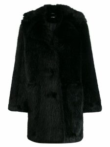 P.A.R.O.S.H. faux fur coat - Black