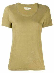 Isabel Marant Étoile round neck T-shirt - Green