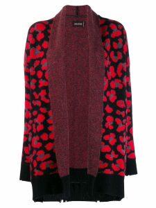 Zadig & Voltaire leopard cashmere cardigan - Black