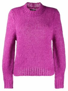 Isabel Marant chunky knit jumper - PURPLE
