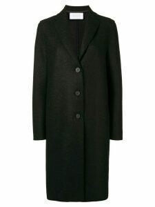 Harris Wharf London boxy buttoned coat - Black
