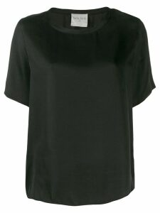 Forte Forte silk T-shirt - Black